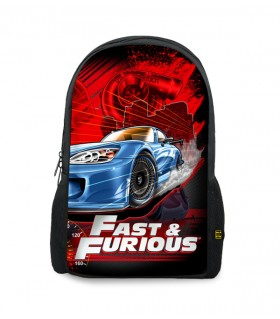 fast and furious printed backpacks